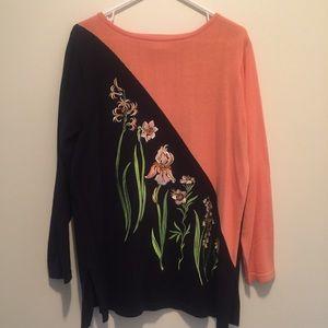 Gorgeous Bob Mackie Wearable Art Sweater M